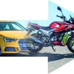 A1 Motorräder mit Autoführerschein fahren!?